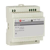 Блок питания 24В DR-60W-24 EKF PROxima