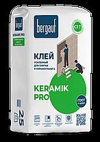 Клей усиленный KERAMIK PRO С1, для керамической плитки, 25 кг, Bergauf, фото 3