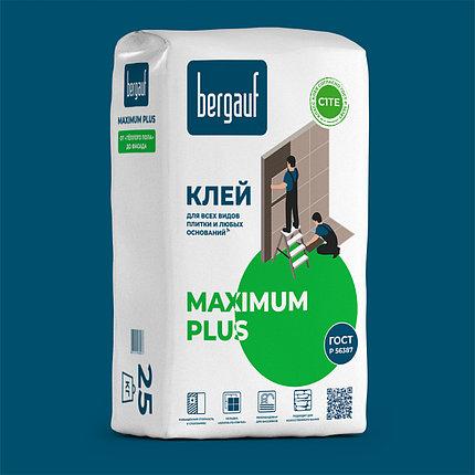 MAXIMUM PLUS, Клей для плитки, 25 кг, Bergauf, фото 2