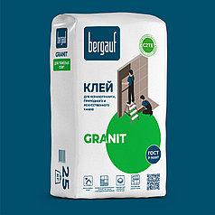 Клей GRANIT для керамогранита, 25 кг, Bergauf