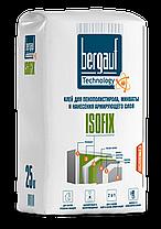 ISOFIX Клей для пенополистирола, минваты, 25 кг, Bergauf, фото 2