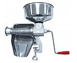 NEW Omra OM-2300-ER ручная механическая шнековая соковыжималка для томатов, ягод, фруктов, овощей, помидоров, фото 2