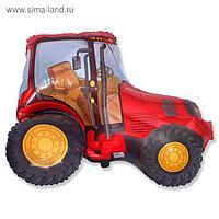 """Шар фольгированный 30"""" """"Трактор"""", цвет красный"""