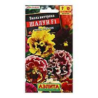 """Семена цветов Виола """"Шалун"""", смесь окрасок, Дв, 5 шт"""
