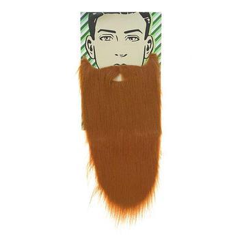 Карнавальная борода «Старик», цвет рыжий