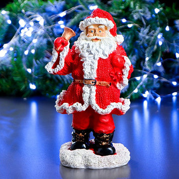 "Фигурка ""Санта-Клаус с колокольчиком"" 13 × 16 × 28 см"