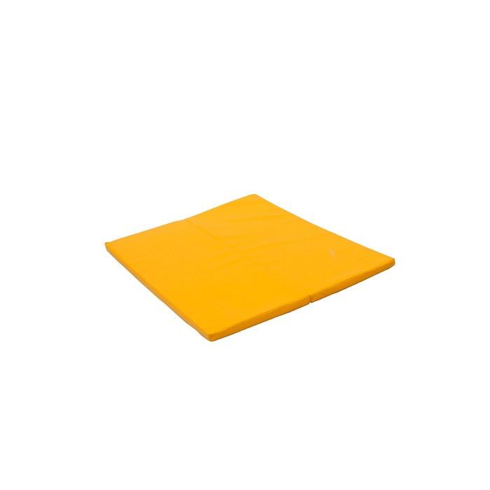 Мат PERFETTO SPORT, 135 х 123 х 4 см, складной, для PS 231, цвет жёлтый