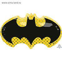 """Шар фольгированный 30"""" «Бэтмен. Летучая мышь», фигура"""
