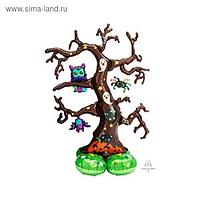 """Шар фольгированный 62"""" «Дерево», фигура"""