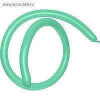 Шар для моделирования 260, стандарт, пастель, зеленый, набор 100 шт.