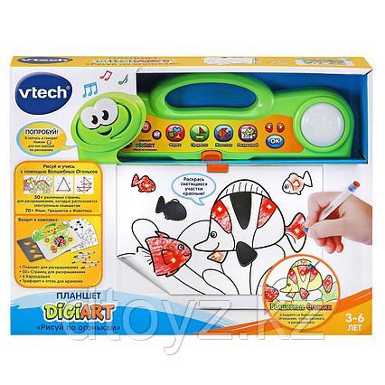 Vtech Планшет Рисуй по огонькам 80-163826