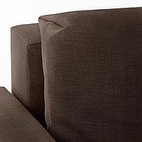 FRIHETEN ФРИХЕТЭН Удобный диван и козетка днем и комфортная двуспальная кровать ночью., фото 6