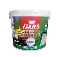 Акриловая водоэмульсия Bars «Интерьер» (протирающийся) 15 кг