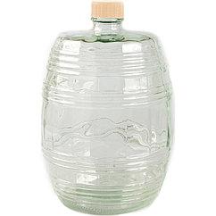 Бутыль Бариле 10л прозрачная с крышкой