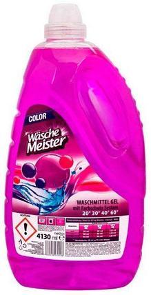 Гель для стирки Wasche Meister Color, 4130 мл, фото 2