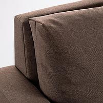 VATTVIKEN ВАТТВИКЕН Кресло-кровать, лерхага коричневый, фото 5