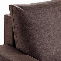 GIMMARP ГИММАРП 3-местный диван-кровать, Рудорна коричневый, фото 4
