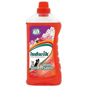 Универсальное чистящее средство Ludwik с функцией поглощения запахов домашних животных 1 л