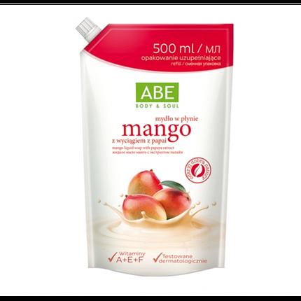 ABE Жидкое мыло манго с экстрактом папайи саше 500 ml, фото 2