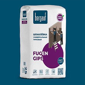Универсальная шпаклевка FUGEN GIPS, 25 кг, Bergauf, фото 2
