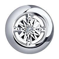 Кулон из серебра с натуральным бриллиантом