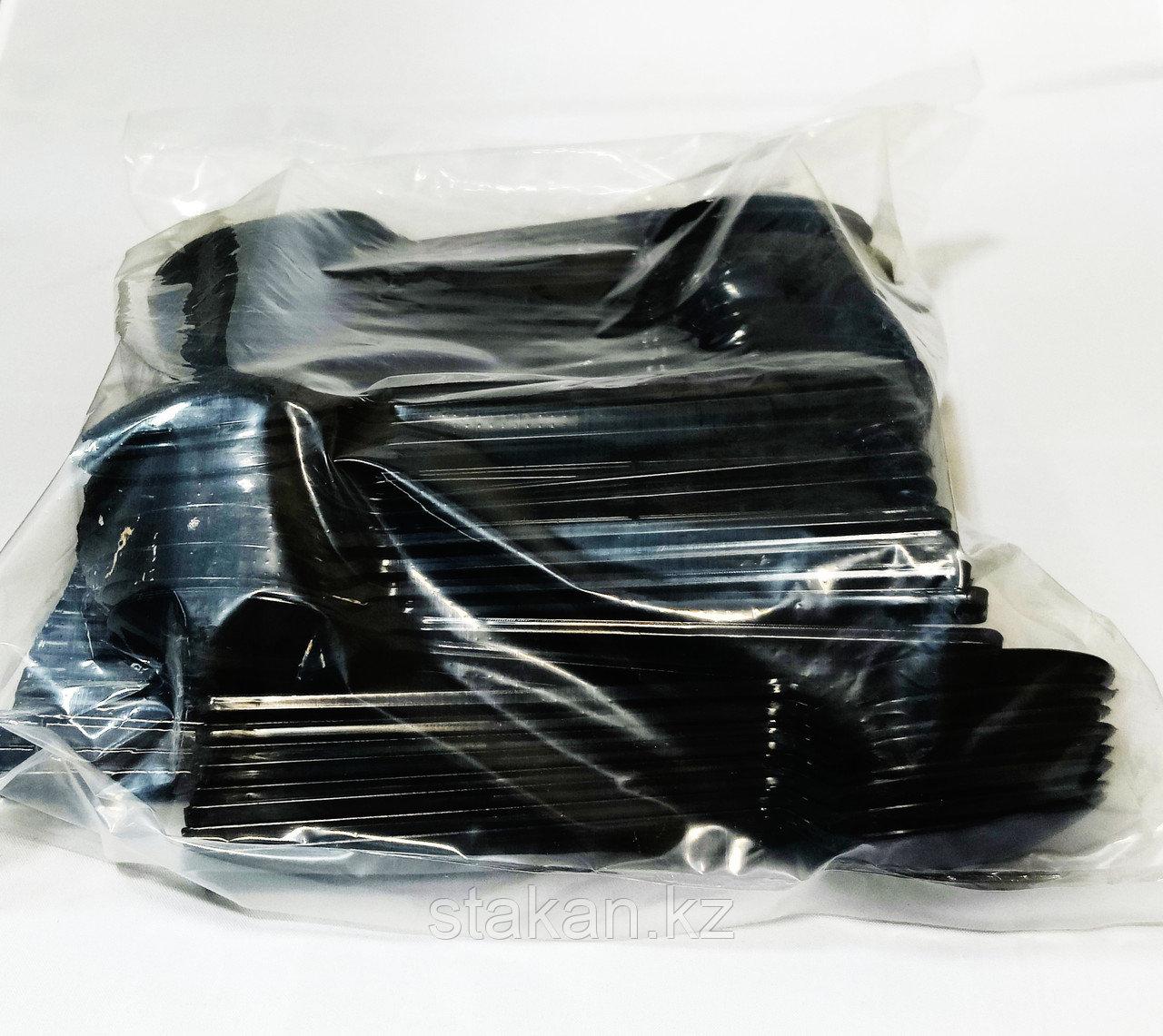 Вилка (100штук в упаковке) ЧЕРНЫЙ