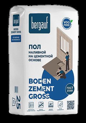 Наливной пол BODEN ZEMENT GROSS (БОДЕН ЦЕМЕНТ ГРОСС), 25 кг, Bergauf, фото 2
