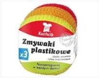Kuchcik Губки пластиковые 3 шт