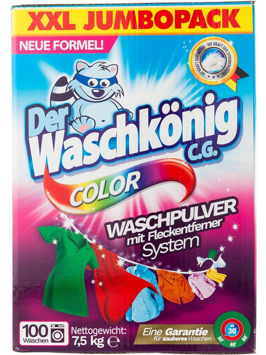 Стиральный порошок Waschkönig Color 7.5 кг
