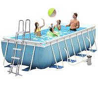 Каркасный бассейн INTEX 400x200x100 см