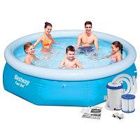 Надувной бассейн Bestway + фильтр-насос 305x76 см
