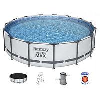 Каркасный бассейн круглый BestWay, 457х107 см