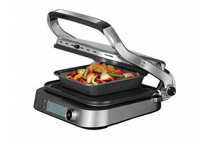 Гриль-духовка REDMOND SteakMaster RGM-M816P, черный/хром