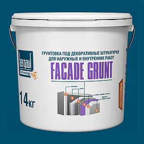Bergauf, FACADE GRUNT - Грунтовка под декоративные штукатурки, (Белый бетон контакт), фото 2