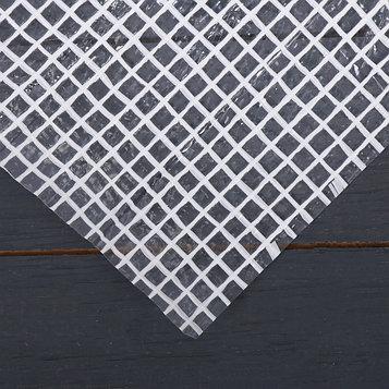 Плёнка полиэтиленовая, армированная ПП шпагатом, толщина 200 мкм, 4 × 25 м, УФ