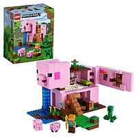 Конструктор Lego Minecraft «Дом-свинья»
