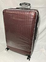 """Большой пластиковый дорожный чемодан на 4-х колесах""""Longstar"""".Высота 74 см, ширина 49 см, глубина 29 см., фото 1"""