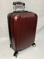 """Маленький пластиковый дорожный чемодан на 4-х колесах"""" Longstar."""" Высота 53 см, ширина 35 см, глубина 25 см., фото 1"""