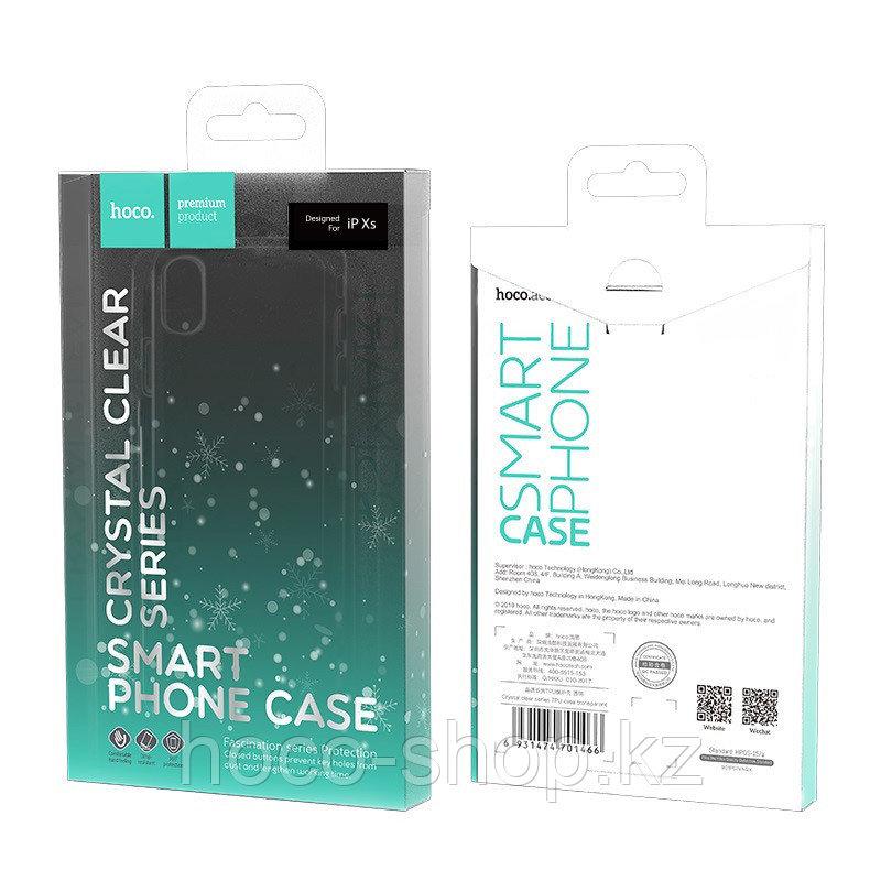 Чехол гелевый прозрачный для iPhone X Hoco - фото 3