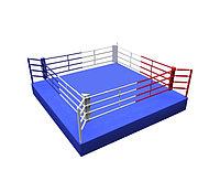 Ринг боксерский 5 х 5 м с помостом 6 х 6 х 0,5м