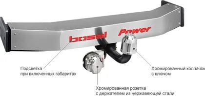 ТСУ на а/м LEXUS RX 300 4x4/RX 330 4x4/RX 350 4x4 2003-2009/TOYOTA Highlander 2003-2009 LUX