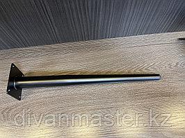 Ножка стальная для диванов и кресел, 40 см, прямая