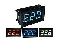 Вольтметр переменного напряжения AC 220 В 30-500 В.