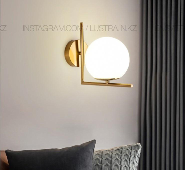 Настенное бра в американском стиле на 1 лампу
