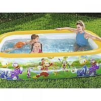Bestway 91008 по лицензии Disney - Мега РАЗМЕР надувной семейный бассейн (262x175x51