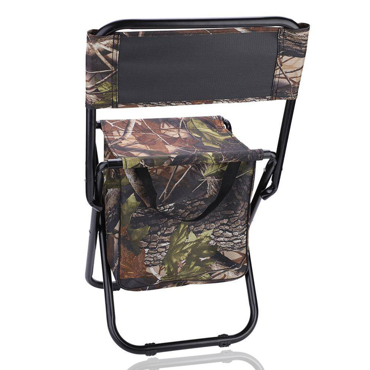 Раскладной стул для пикников и рыбалок камуфляжный - фото 3