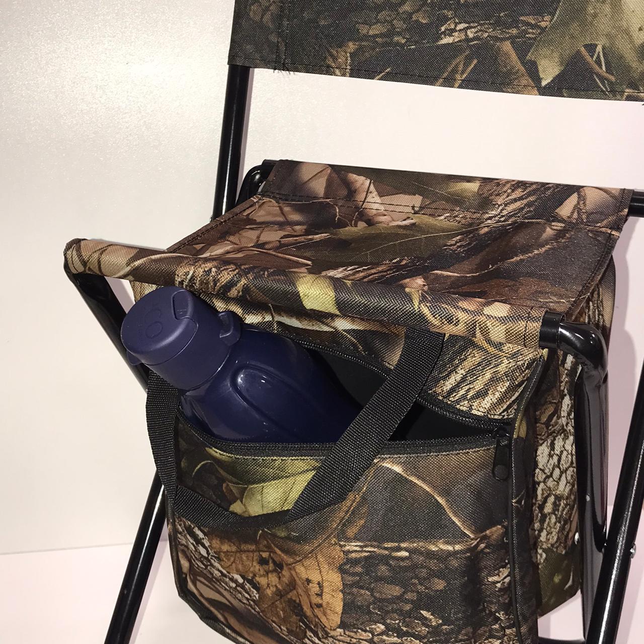 Раскладной стул для пикников и рыбалок камуфляжный - фото 6