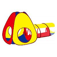 Детская палатка Конус Pituso с тоннелем + 100 шаров