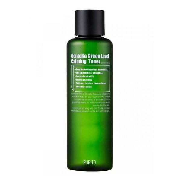 Успокаивающий тонер PURITO Centella Green Level Calming Toner
