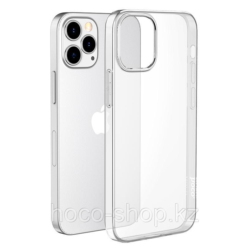 """Защитный гелевый чехол для iPhone 12/12 Pro Hoco """"Light series"""", прозрачный"""